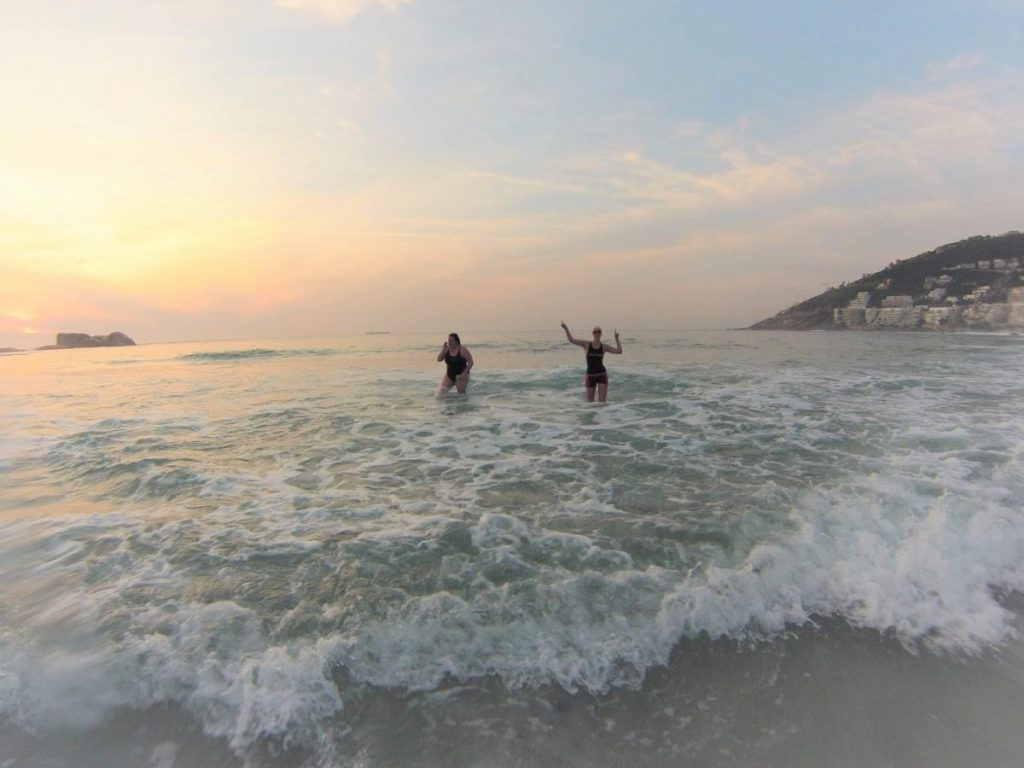 Open water swimming group in Cape Town ELEMINT