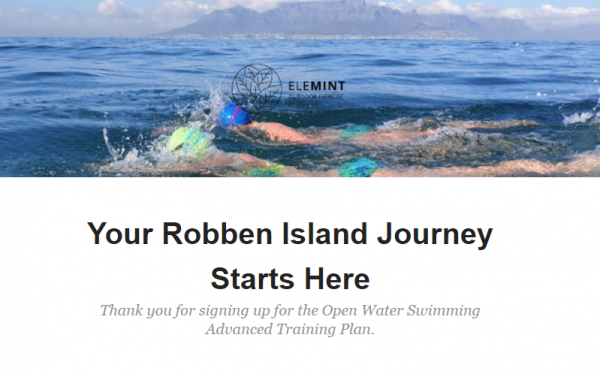 Robben Island Swim Training Plan Preview 1